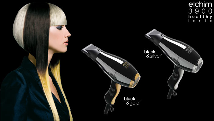 Hair-dryer-elchim-3900-healthy-silver-gold